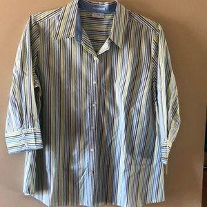Button down maternity dress shirt size XL